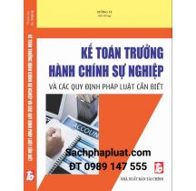 ke-toan-truong-hanh-chinh-su-nghiep-va-cac-quy-dinh-phap-luat-can-biet